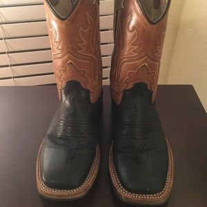 Other - Kids leather cowboy boots